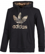 Adidas sweat c/capuz city camo trefoil