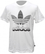 Adidas camiseta trefoil fill in graphic