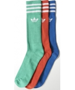 Adidas calcetines pack3 solid