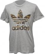 Adidas t-shirt trefoil camo
