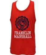 Franklin & marshall t-shirt alças