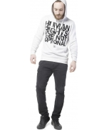 Boombap rights hoodie r-neck rib man