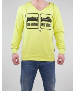 Boombap great hoodie v-neck cut man