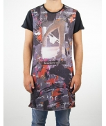 Boombap freshy-g tee r-neck long laser cut men