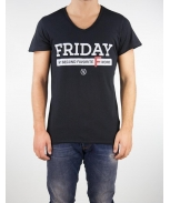 Boombap friday my tee v-neck laser cut