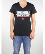 Boombap twinkle little tee v-neck laser cut