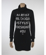 Boombap 5 in one hoddie neck dress