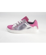 Sports shoes prata rosa