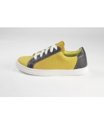 Sports shoes amarelo navy