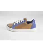Sports shoes camel azul