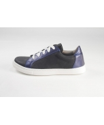 Sports shoes preto metal azul