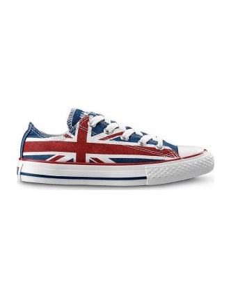Converse sports shoes ct ox uk flag