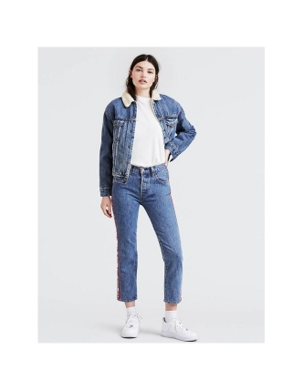 Levis trouser of ganga 501 crop spectator w