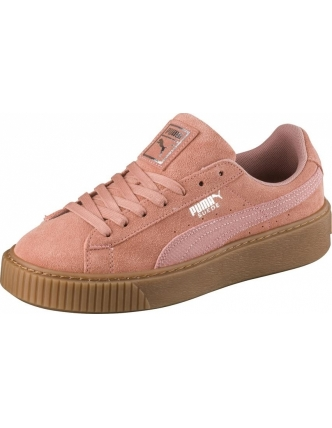 Puma sports shoes sueof platform animal