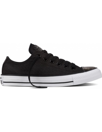Converse sports shoes chuck taylor all star brush off leather toecap ox