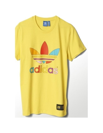 Adidas camiseta super color trefoil pharrell williams