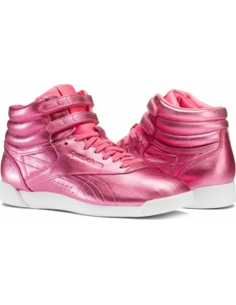 Reebok sports shoes f/s metallic hi w