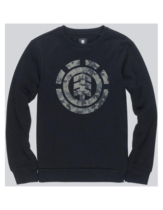 Element sweatshirt bark logo crew