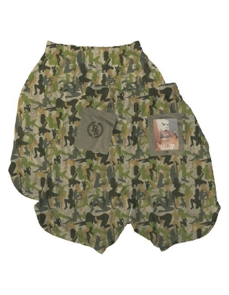 Boombap trooper short luxe