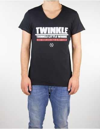 Boombap twinkle little top  cuello de pico