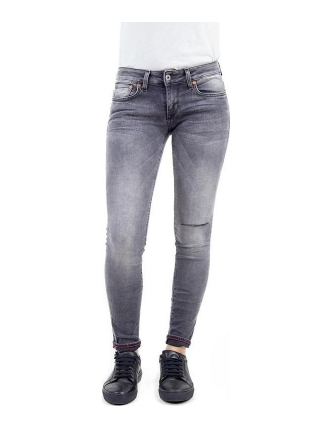 Boombap jolie skinny medium rag ripped wash