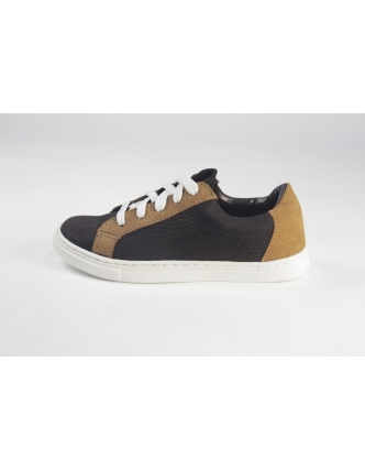 Zapatilla brown cuoio