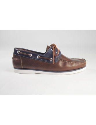 Classic shoe brown navy